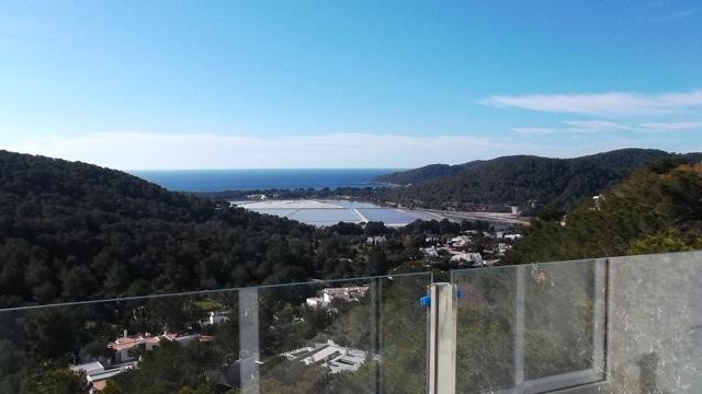 Sea Views Mediterranean Ibiza Villa Terrace