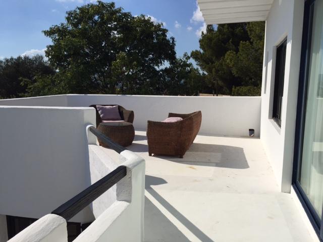 Seating Area Exterior Ibiza Villa Beautiful