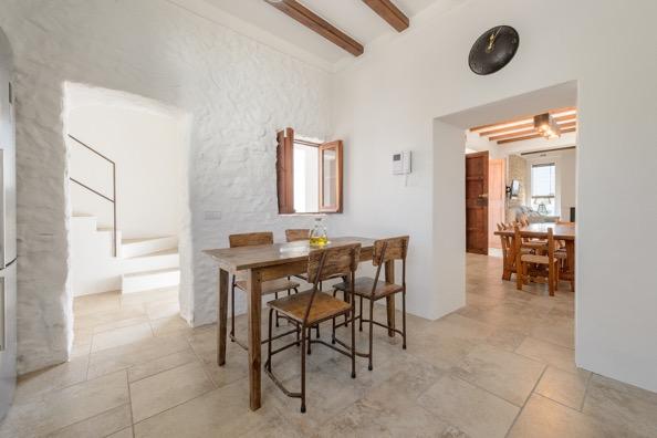 Seating Kitchen Ibiza Villa