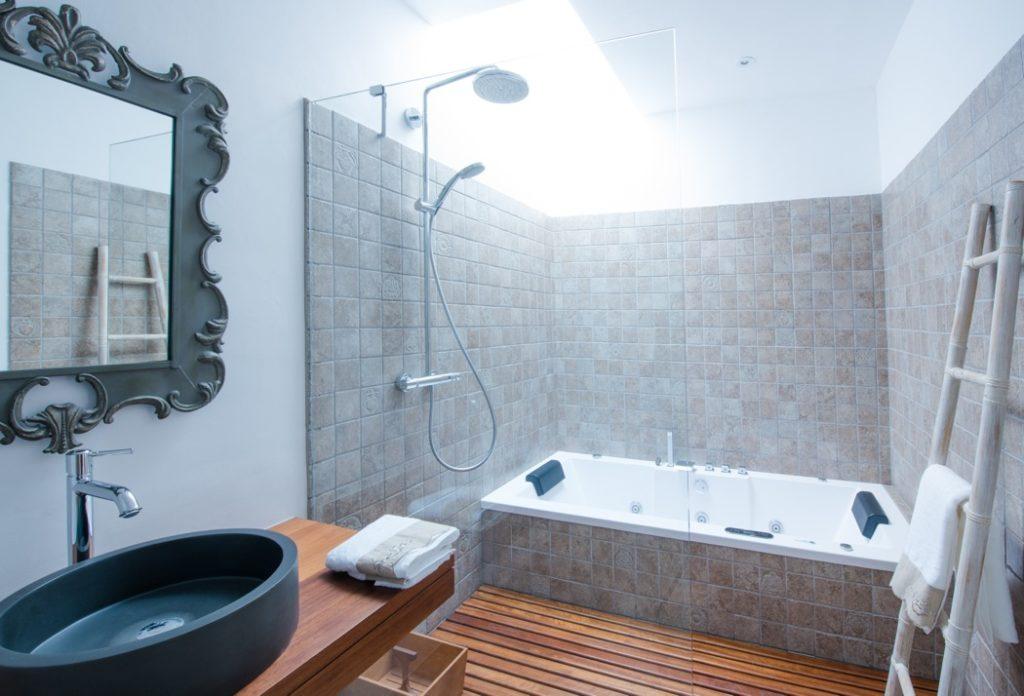 Shower Bathroom Ibiza Villa