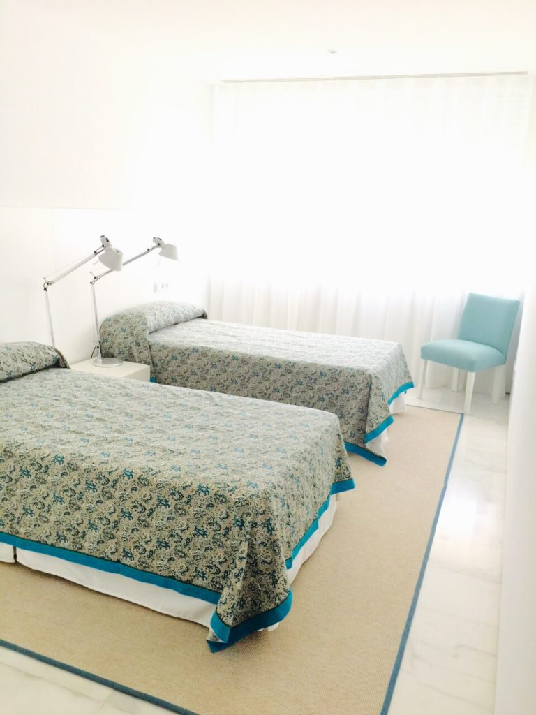 Single Beds Ibiza Villa Room Spacious Amazing