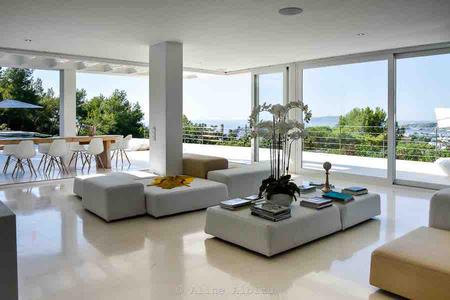 Sitting Area Outdoor Ibiza Villa 1