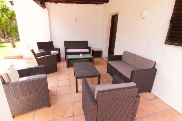 Sitting Area Outdoor Ibiza Villa