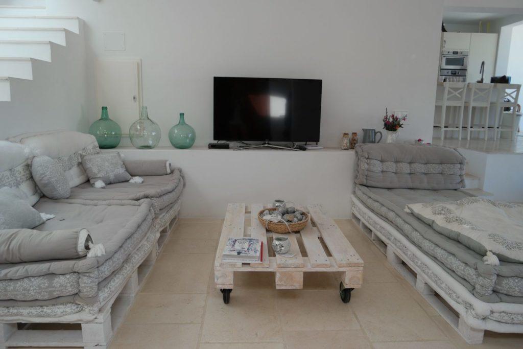 Sitting Ibiza Room Sofa View Sea Villa