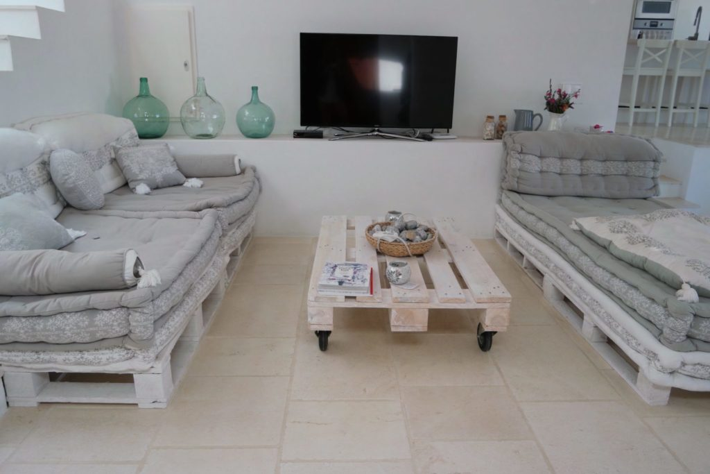 Sitting Ibiza Room Sofa View Sea Villa Tv
