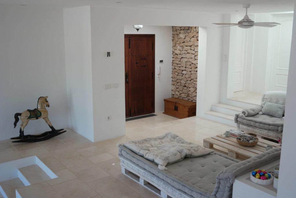 Sitting Room Chez Long View Sea Villa Ibiza