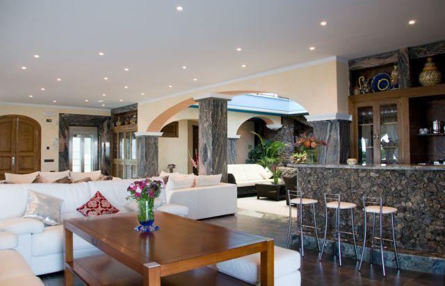 Sitting Room Ibiza Villa Dining Room