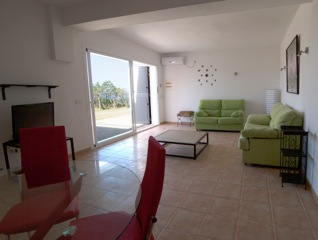 Sitting Room Ibiza Villa Sofa Green