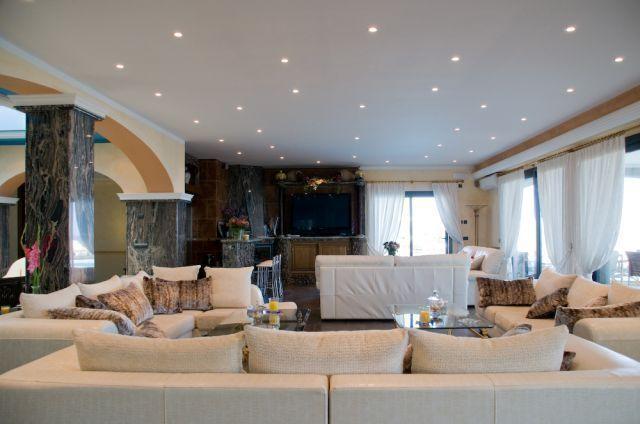 Sitting Room Ibiza Villa Spotlights