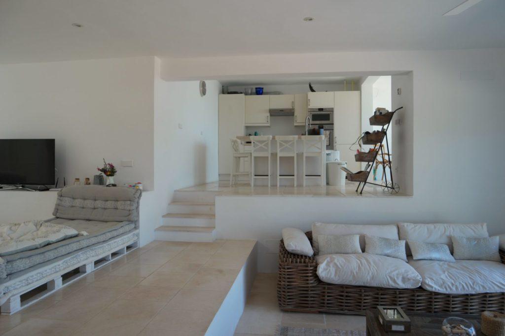 Spacious Living Room Ibiza Villa