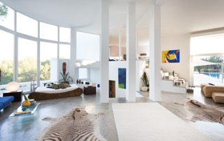 Spacious Living Room Ibiza Villa