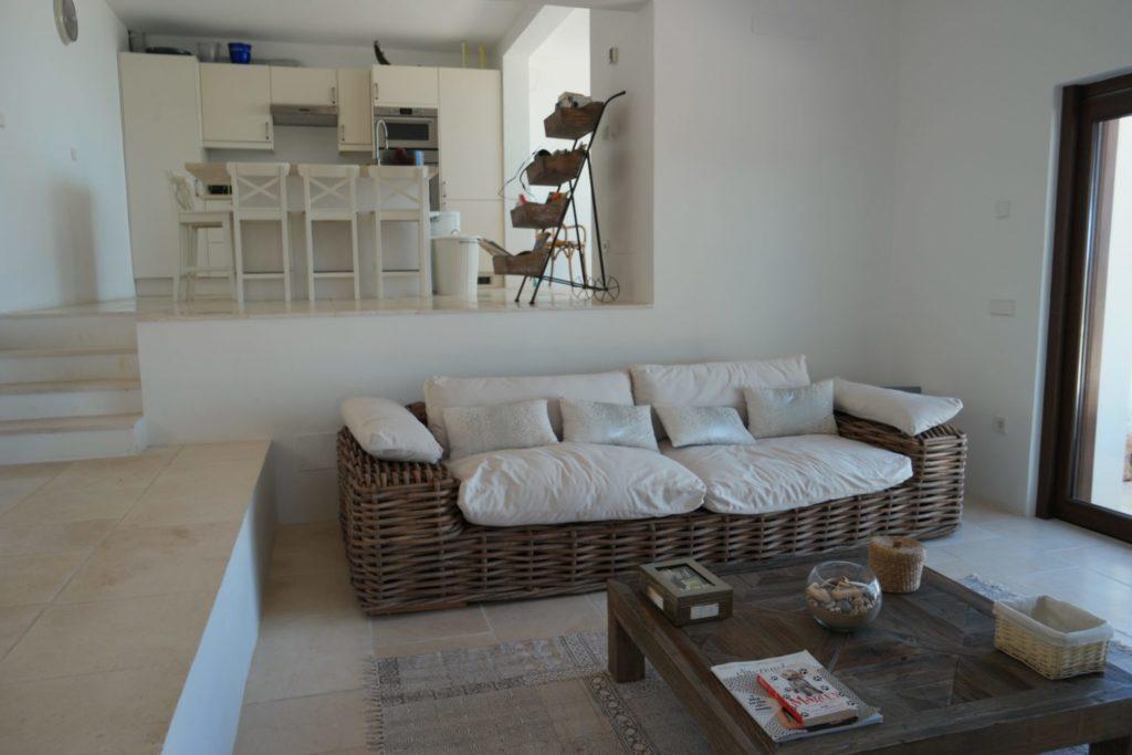 Spacious Villa Living Room Ibiza