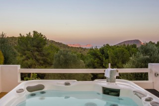 Spanish Villa Ibiza Porroig Jacuzzi Hot Tub