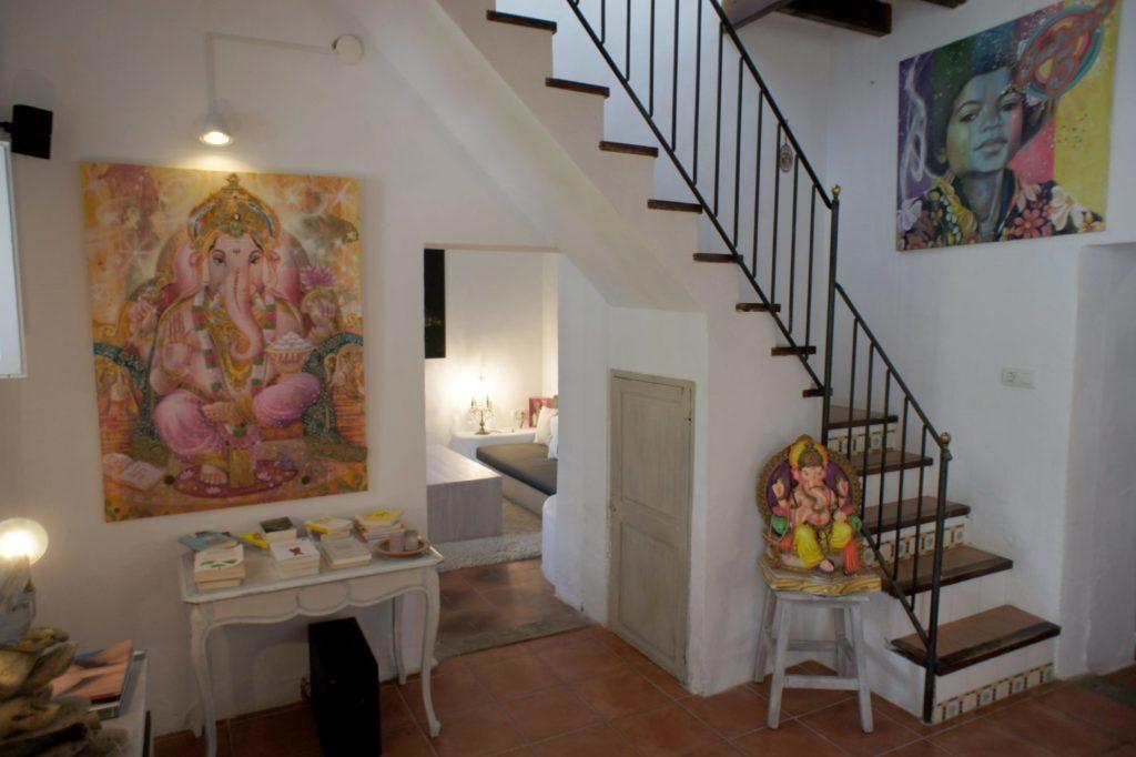 Stairs Ibiza Villa Luxury Traditional Gorgeous