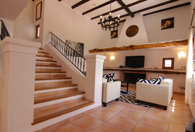 Stairs Villa Finca Chandelier Beautiful Ibiza