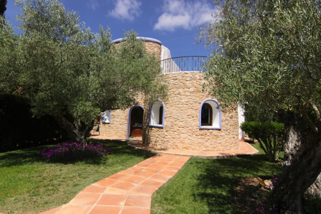 Stone Traditional Ibiza Villa Gorgeous Stylish