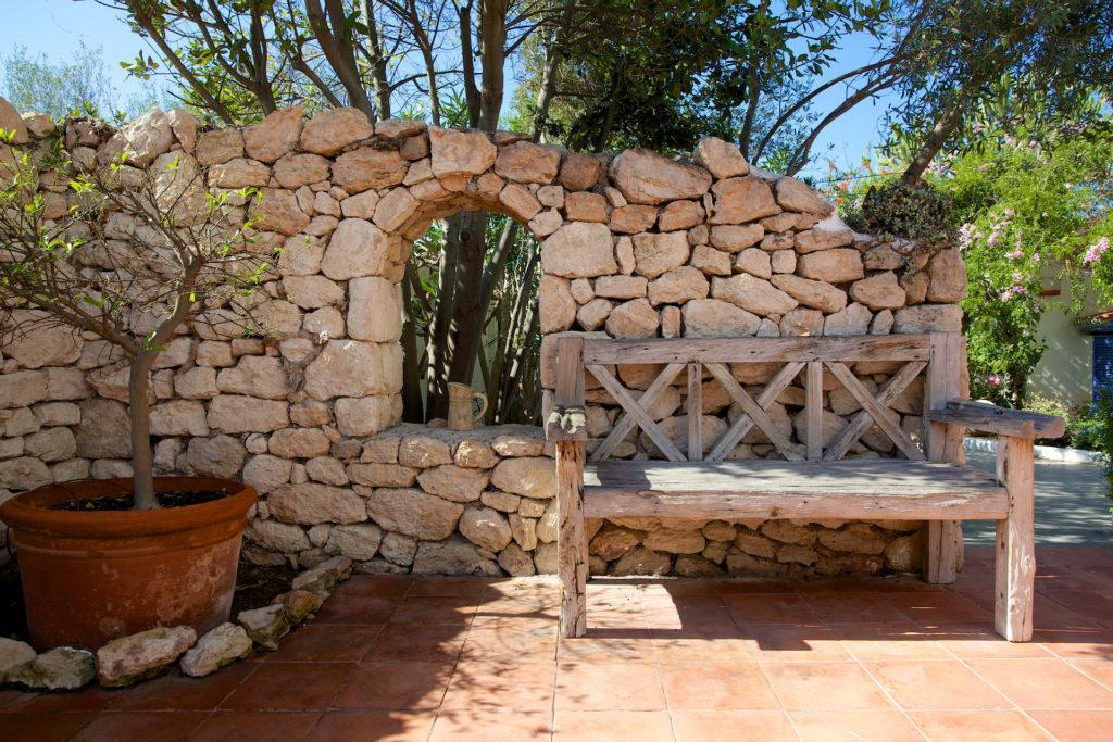 Stone Wall Villa Ibiza Outdoor