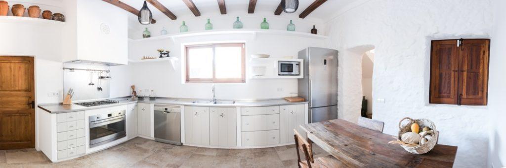 Stunning Finca Amazing Style Villa Ibiza Kitchen