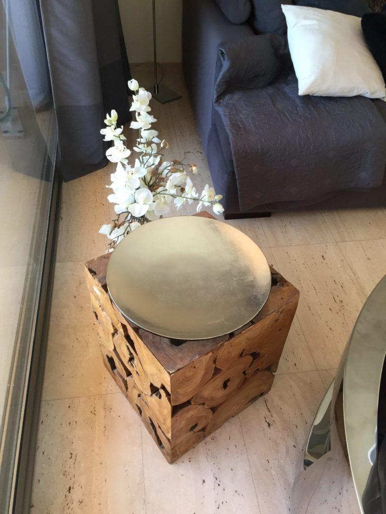Stunning Interior Styling Wooden Table Ibiza Villa