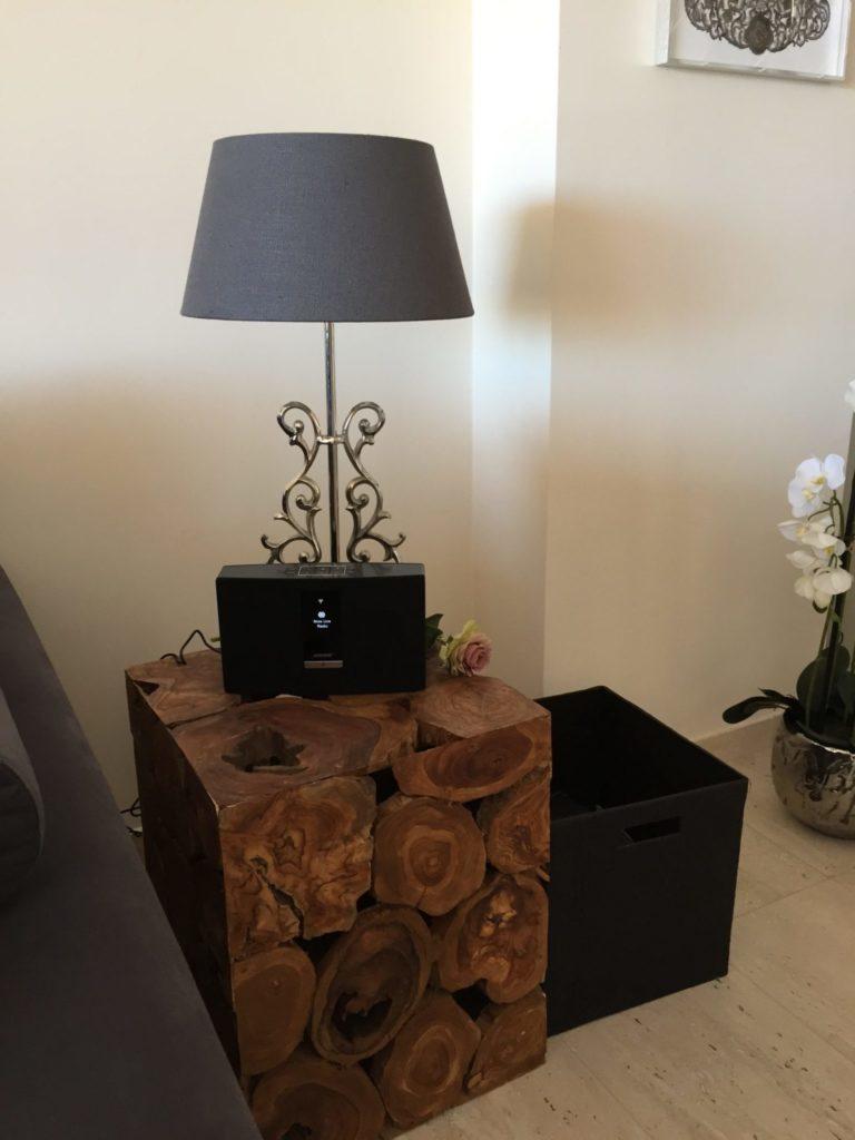 Stunning Villa Interior Styling Wooden Table Ibiza