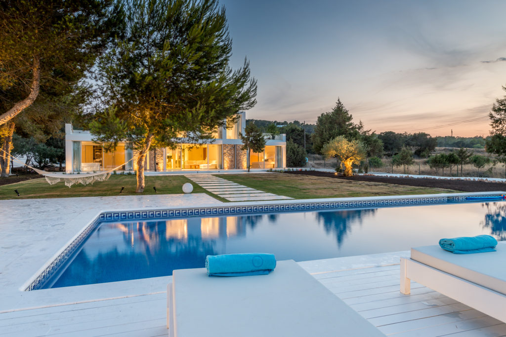 Stunning Villa Unique Luxury Luxe Sophisticated Modern Ibiza Pool