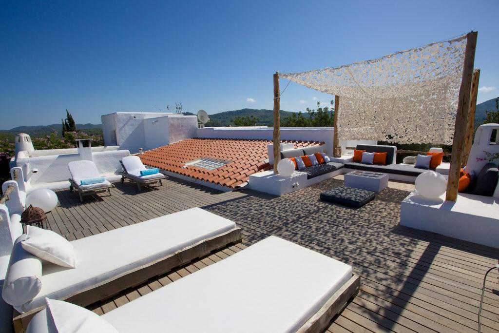 Sun Soaked Terrace Ibiza Villa
