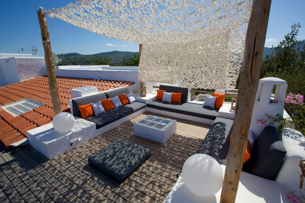Sun Terrace Ibiza Villa Rooftop Soaked Comfort