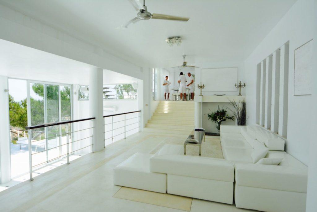 Super Luxury Villa Living Area Ibiza