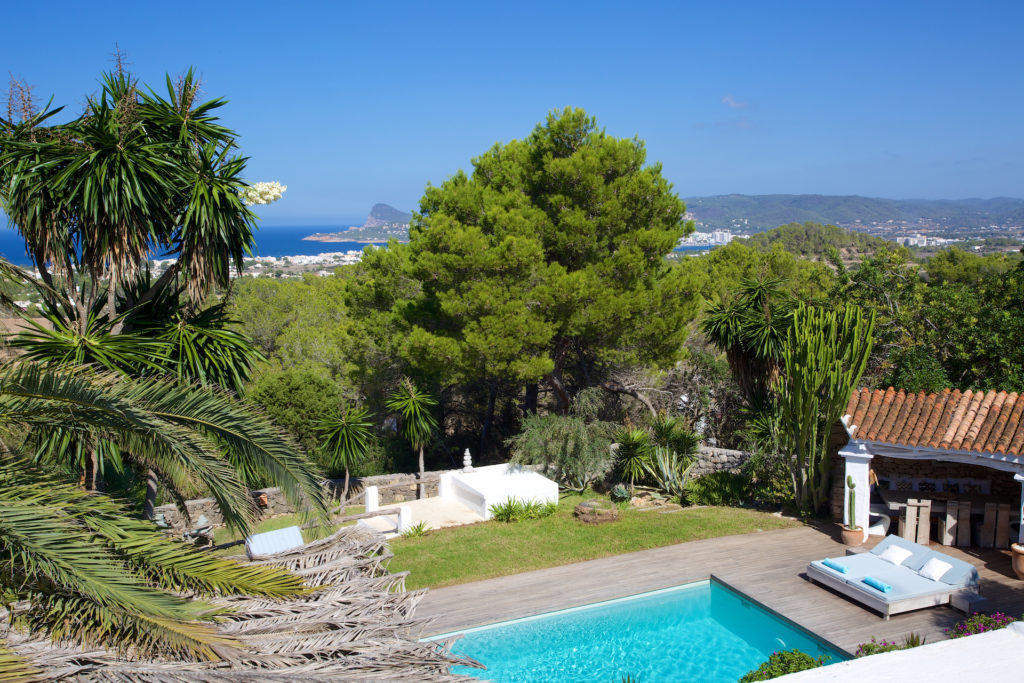 Swimming Pool Forest Ibiza Villa Nature