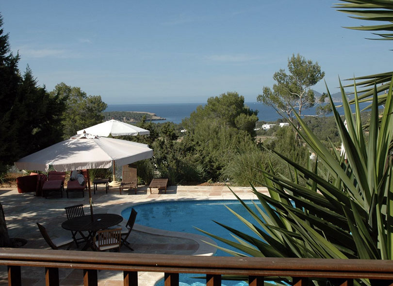 Swimming Pool Ibiza Villa Sea View Gorgeous