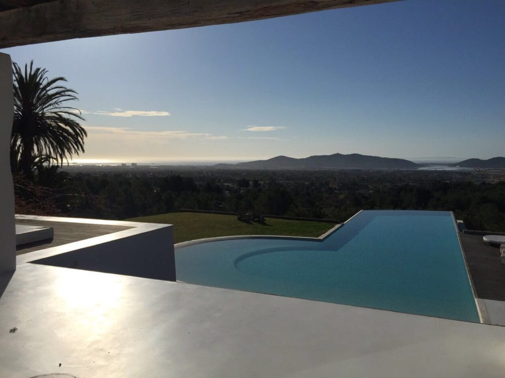 Swimming Pool Modern Chic Ibiza Villa Clube