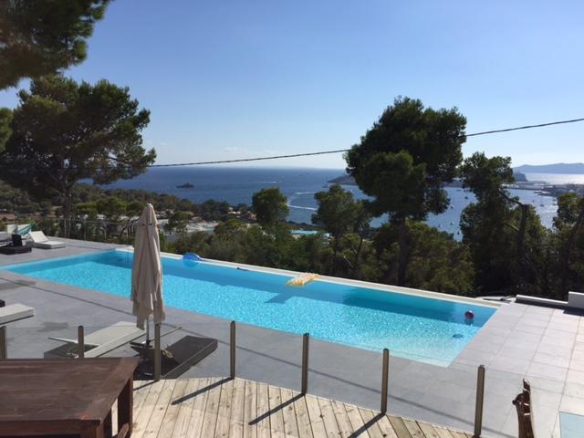 Swimming Pool Villa Sea View Ibiza