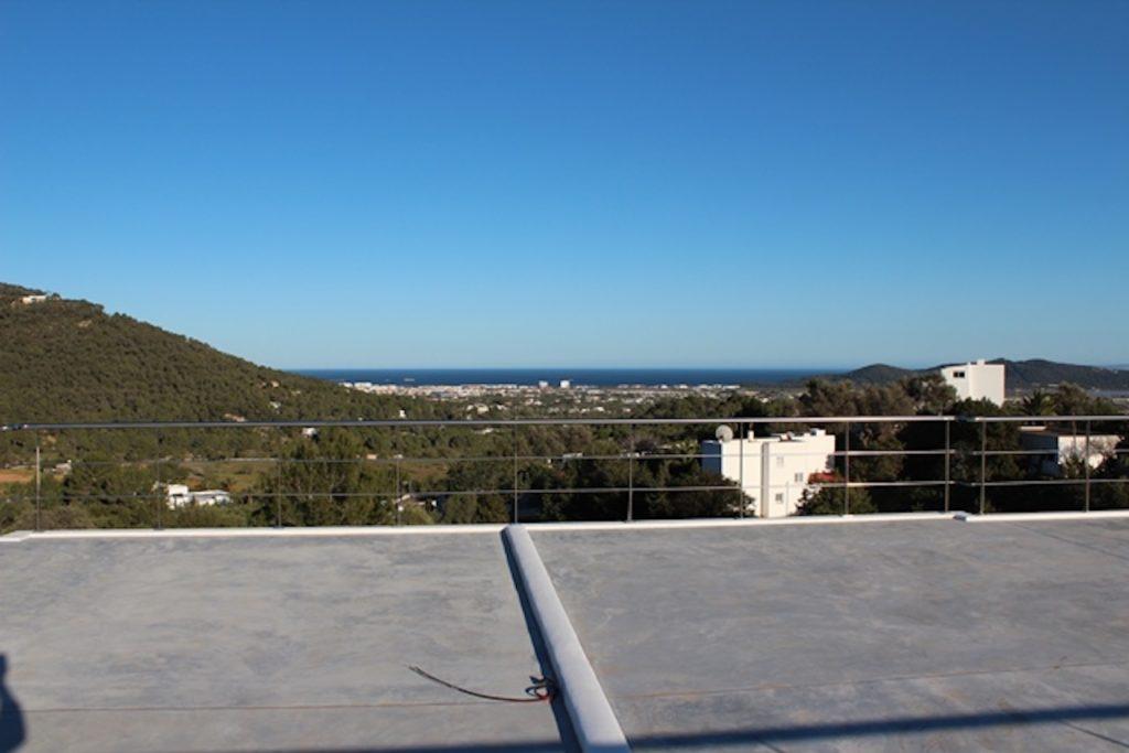 Swimming Trees Pool Ibiza Villa Sea View
