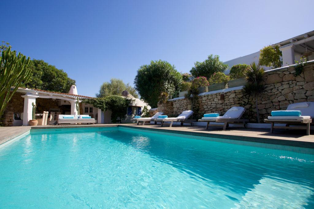 Swimming Villa Forest Nature Pool Ibiza Large