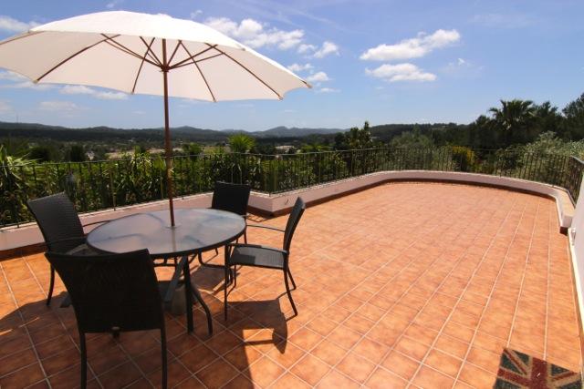 Terrace Dining Area Ibiza Villa