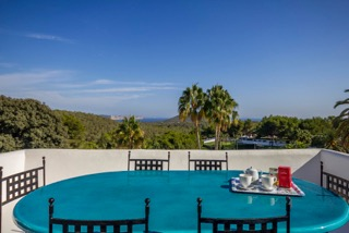 Terrace Dining Area Indoor Porroig Location Villa Ibiza