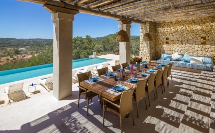 Terrace Luxury Villa Spain Ibiza
