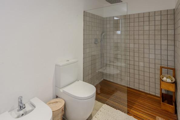Toilet Shower Modern Ibiza Villa Gorgeous