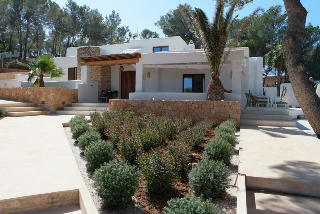 Trees Garden Verranda Villa Rustic Ibiza