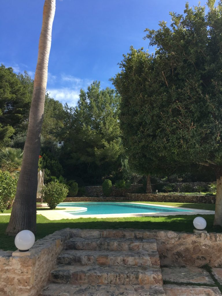 Trees Villa Tall Pool Swimming Outside Exterior Ibiza