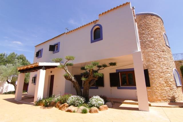 Turret Ibiza Villa Style Unique Exterior