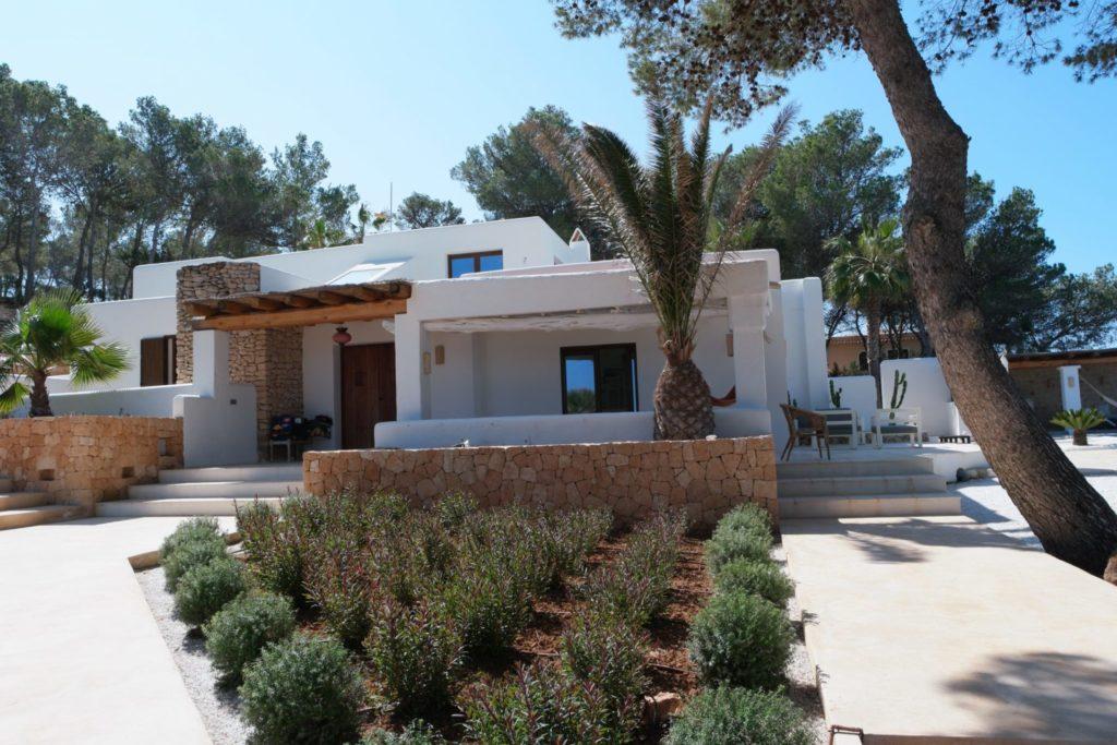 Verranda Villa Rustic Ibiza Trees Garden