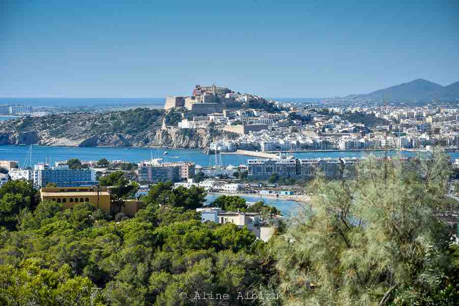 View From Can Furnet Ibiza Town Dalt Vila