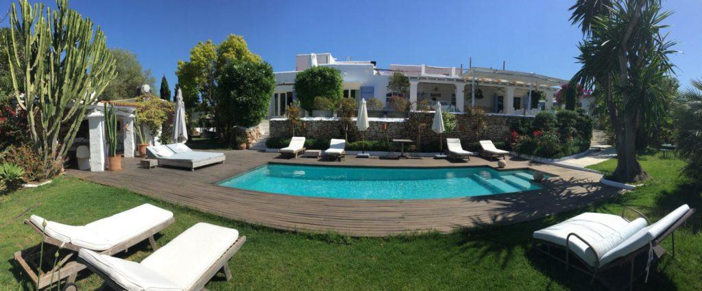 View From Outside Cala Tarida Ibiza