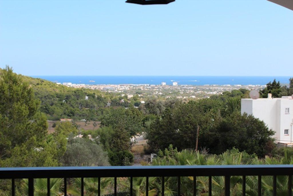 View Ibiza Villa Balcony