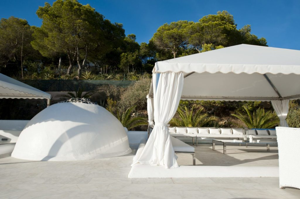 Villa Chill Out Tent Out Spaces Ibiza