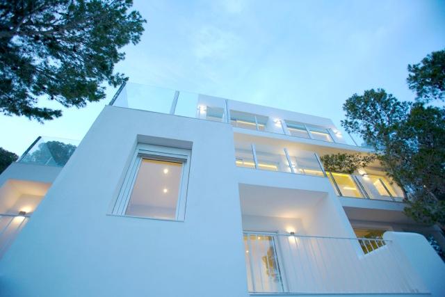 Villa Cube Style Chic White Clean Amazing Ibiza Villa