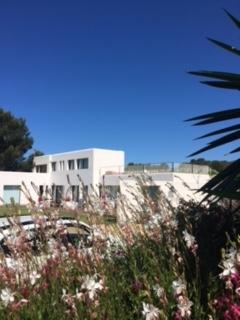Villa Front View Cala Jondal Ibiza 2