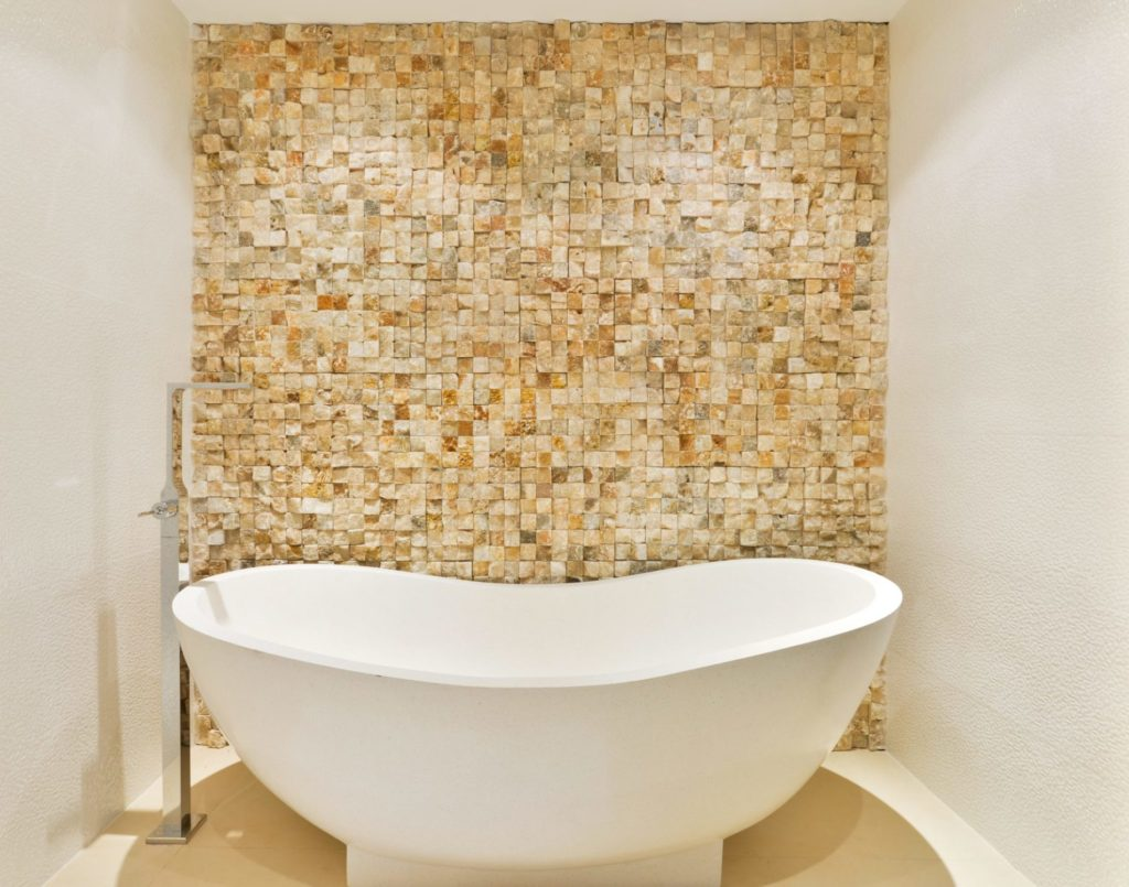 Villa Ibiza Bathroom Bath Gold Luxury