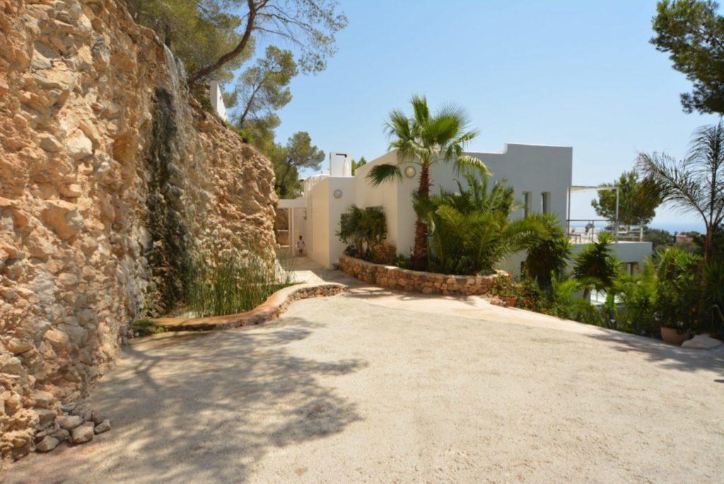Villa Ibiza Gorgeous Luxury Opulence Roca Entrance